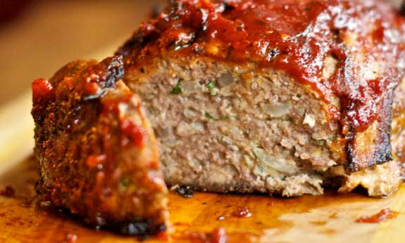 Paleo Turkey Cheeseburger Meatloaf