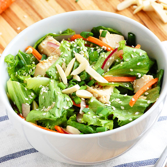 Paleo Asian Greens with Chicken