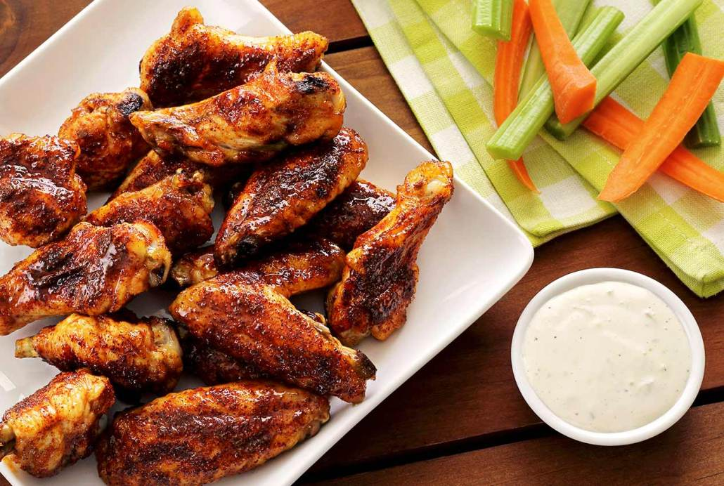 Spicy & Sweet Chipotle-Honey Baked Chicken Wings   Paleo Newbie