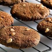 easy paleo recipe ginger snap cookies