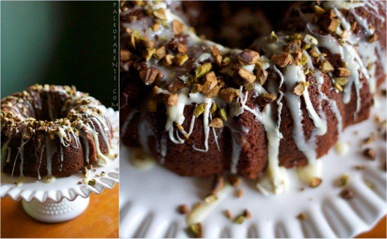 Paleo Pistachio Nut Bundt Cake