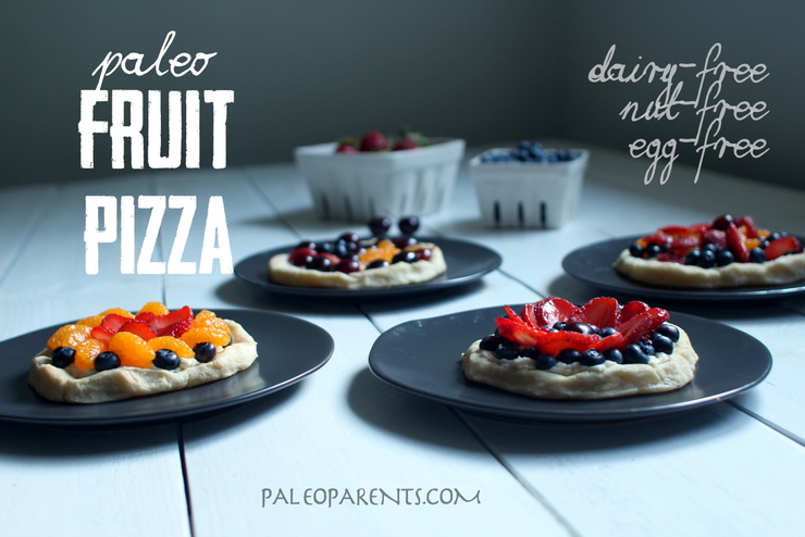 Paleo Golden Fruit Pizza
