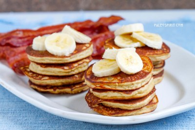 Paleo Banana Pancakes (Grain/Gluten/Dairy-free)