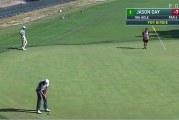 Video: Jason Day upotti täysin käsittämättömän putin yli 20 metristä
