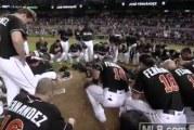 Video: Viikonloppuna kuolleen baseball-tähden muisto-ottelussa liikuttavat hetket