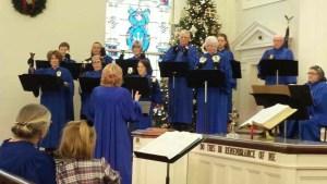 2014 December Handbell Choir