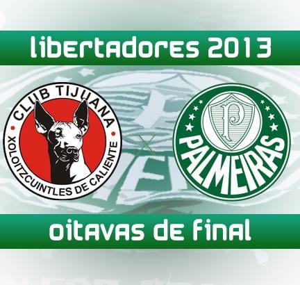 Palmeiras encara Tijuana pela Libertadores
