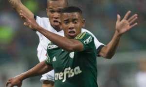 Gabriel Jesus desencanta e reservas classificam o Palmeiras contra o ASA