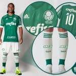 Palmeiras divulga uniforme da final com novo espaço 'publicitário'