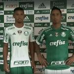 Palmeiras apresenta novo uniforme na Academia
