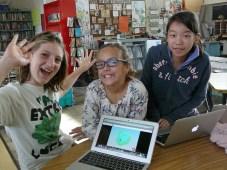 Fairmeadow Elementary students. Photo by Jennifer Apy.