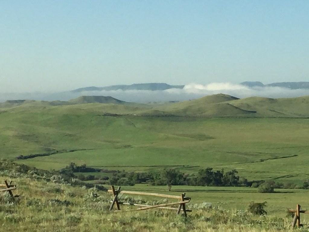 mist in the next valley