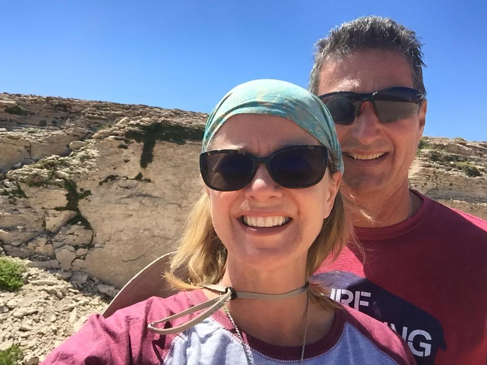hiking to medicine wheel