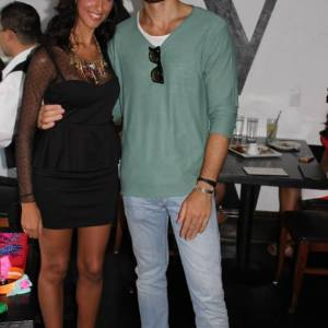 Pamela Quinzi with Italian Actor Giulio Berruti at Kilame event in New York at RSVP