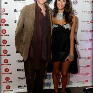 Pamela Quinzi with Director-Actor Declan Joyce
