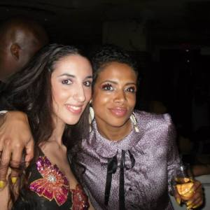 Pamela Quinzi and singer Kelis