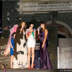 "June 2011 Award as ""Best Fashion Designer"" at the competition Ponte Milvio in Moda in Rome, Italy."