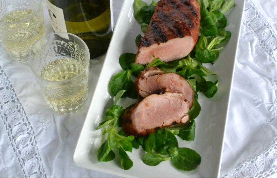 Pork Tenderloin with Homemade BBQ Sauce - Gluten Free