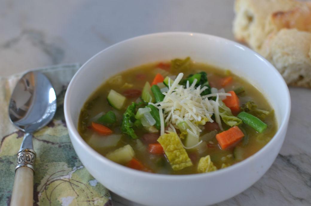 Winter Minestrone Soup - Gluten Free