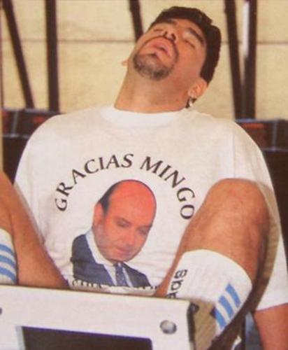 Fiesta menemista - Diego