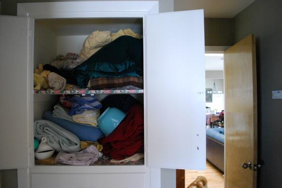Hall Closet, 1