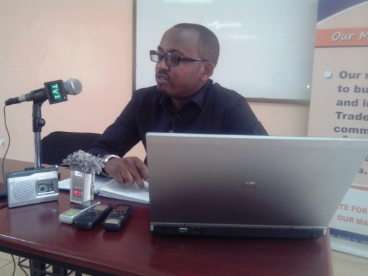 Musoni Jordi Michel, Umuyobozi wa Sendika SYPELGAZ, unahagararaiye abari abakozi ba WASAC na REG