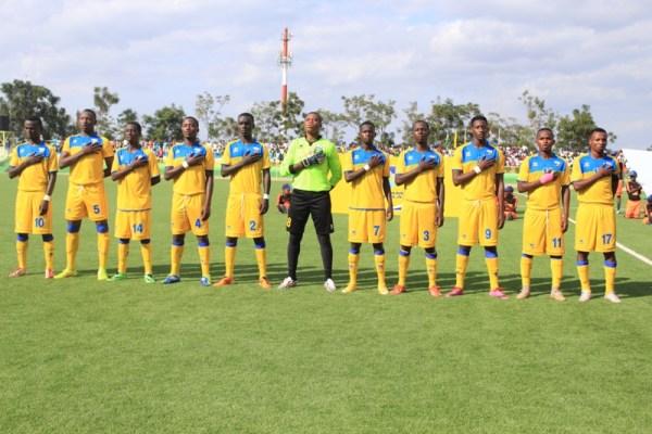 Ikipe y'u Rwanda y'abatarengeje imyaka 20