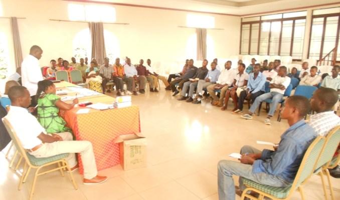 Abayoboke ba PSD muri Kongere zabereye mu ntara y'Iburasirazuba bahawe ibiganiro ku bijyanye n'imiyoborere n'imicungire y'umutungo w'amakoperative. (Photo/R.A)