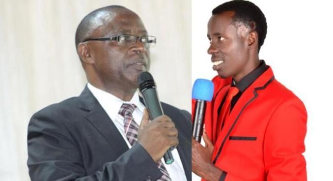 Rev Past. Sibomana Jean Umuyobozi wa ADEPR na Rev. Past. Kavamahanga Alphonse Umuyobozi wa UDEPR yiyomoye kuri ADEPR.