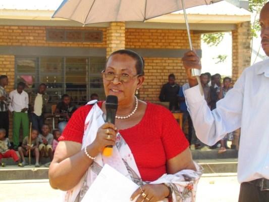 Ruboneka Suzana, Umwe mu bayobozi ba BENIMPUHWE (Photo/Cypridion HABIMANA)