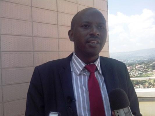 Mutsindashyaka André, Umunyamabanga Mukuru wa Sendika y'abakozi bo mu bucukuzi bw'amabuye y'agaciro mu Rwanda (REWU) (Photo/Panorama)