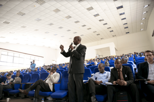 """Numerous independent researchers had followed the organizers' call for papers for the topic """"Rwandan Economy towards the Economic Development and Poverty Reduction Strategy 3 (EDPRS 3)"""", (Photo/Courtesy)"""