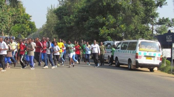 Imyitozo ngororamubiri yakorewe mu mujyi wa Kabarore. (Photo/Courtesy)