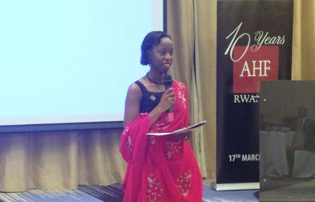 Dr Brenda Asiimwe Kateera, Umuyobozi wa AHF Rwanda (Photo/Panorama)