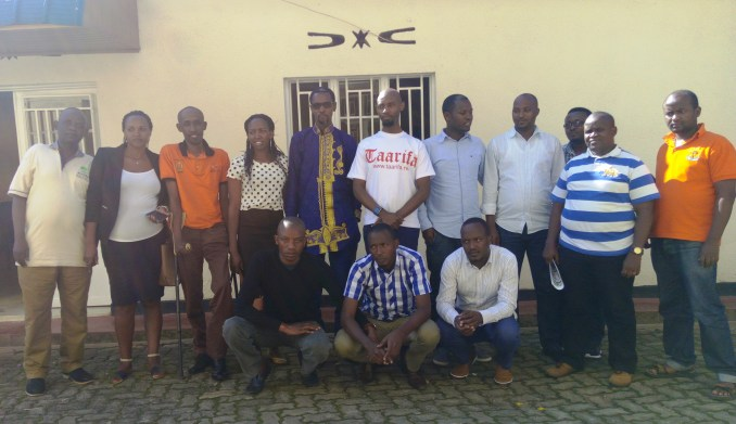 Shareholders of Media Ventures Group Ltd after the meeting (Photo/Panorama)