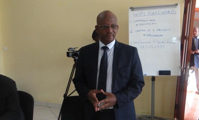 Sam Gody Nshimiyimana, Umunyamabanga Nshingwabikorwa wa MIC (Photo/Panorama)