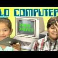 Què fan els natius digitals amb un ordinador dels 70?