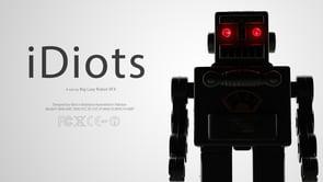 Robots obsesionats amb els mòbils: iDiots