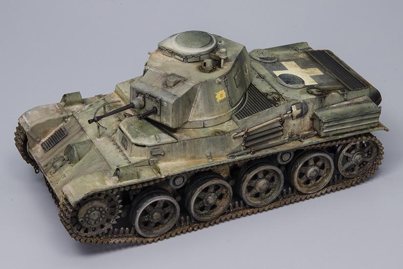 Hungarian Light Tank 38M Toldi I(A20)
