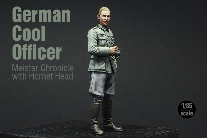 Cool German Officer, terminado