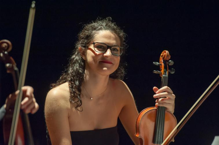Agnese Balestracci violinista, di Sergio Pricci