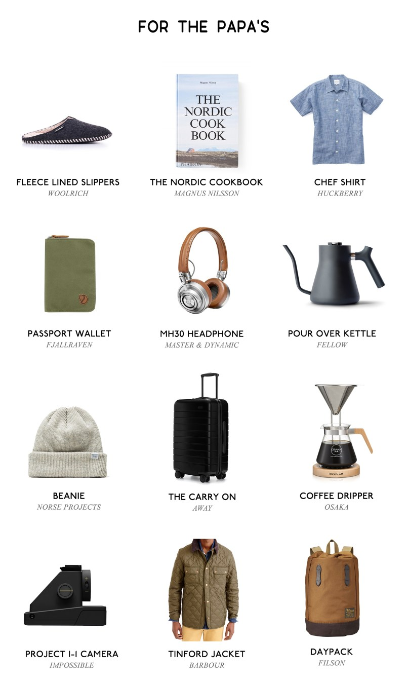 Holiday Gift Guide for Fathers