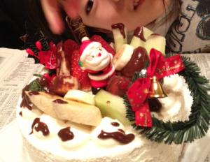 手作りケーキにチャレンジ!