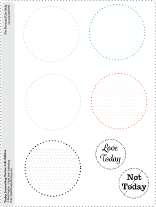 Journaling Circles For Today Life guided journal - free printable