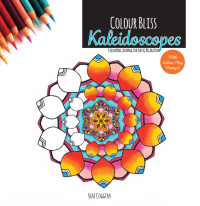 Colour Bliss: Kaleidoscopes - Colouring Journal For Fun and Relaxation - Colouring Book for Adults