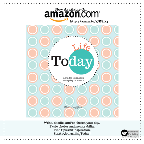 Today Life guided journal now available on Amazon.com