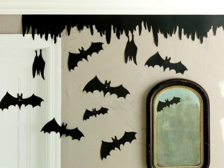 Martha Stewart Bat Silhouette Halloween Decorations