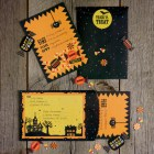 Martha Stewart Halloween Candy Invitations