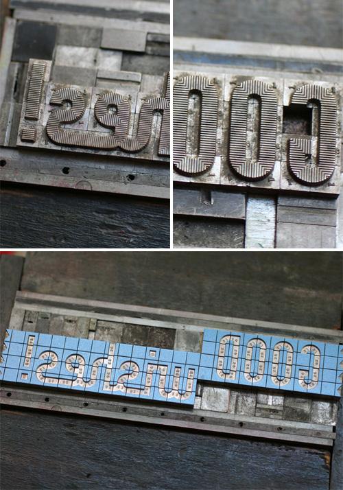 Starshaped Press Letterpress Blox Cards