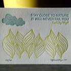 Cartoules Letterpress Nature Print